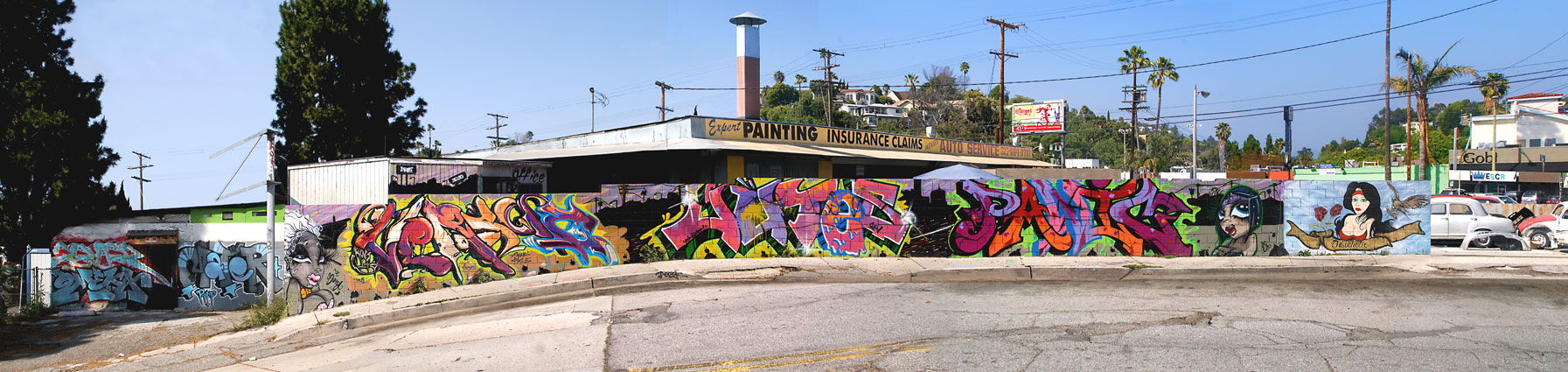 Elliott Place, Los Angeles, 2011