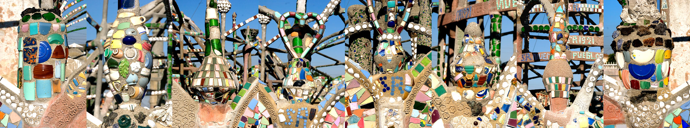 Watts Towers, Los Angeles, 2008