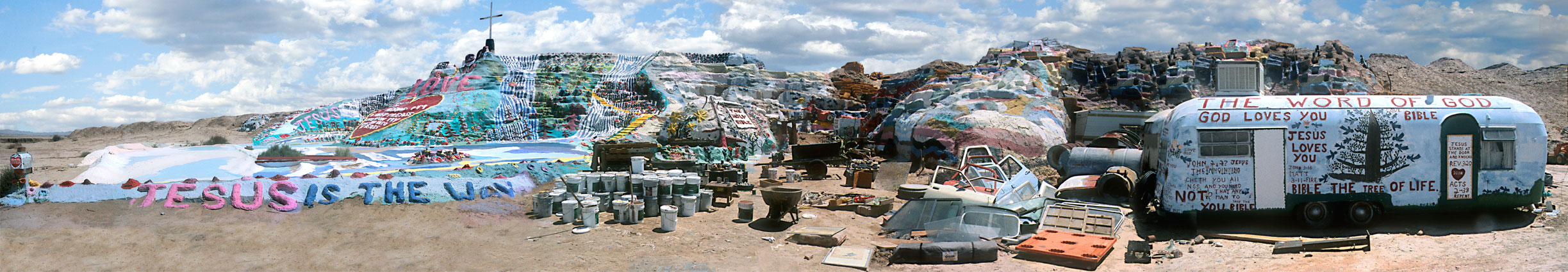 Salvation Mountain #4, California, 2008