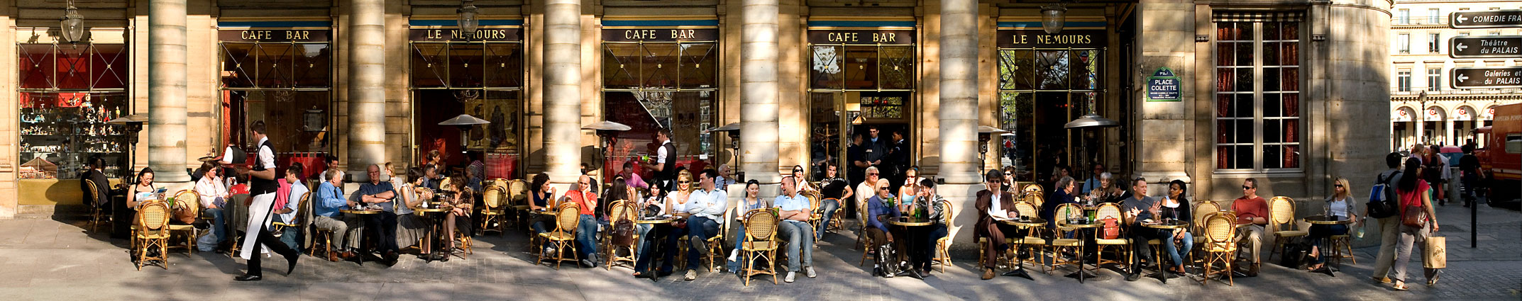 Place Colette, Paris, 2006