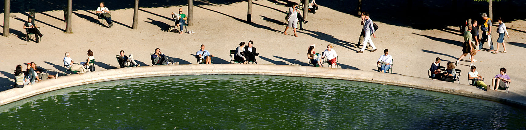 Palais Royal Pond, Paris, 2007